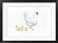 Hen and Chickens Fine-Art Print