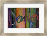 Abstract Denver Fine-Art Print