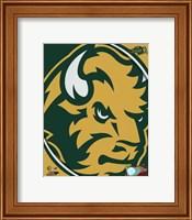 North Dakota State Bison 2016 Logo Fine-Art Print