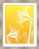 Floral Silhouette 3 Fine-Art Print