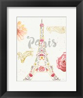 Paris Blooms I Fine-Art Print