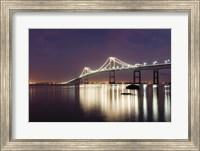 Dusk over Newport Bridge Fine-Art Print