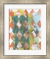 Harlequin Abstract III Fine-Art Print