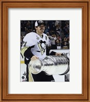 Evgeni Malkin with the Stanley Cup Game 6 of the 2016 Stanley Cup Finals Fine-Art Print