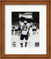 Sidney Crosby with the Stanley Cup Game 6 of the 2016 Stanley Cup Finals Fine-Art Print