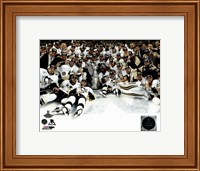 The Pittsburgh Penguins Celebration on Ice Game 6 of the 2016 Stanley Cup Finals Fine-Art Print