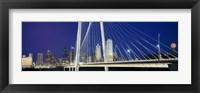 Margaret Hunt Hill Bridge, Dallas, Texas Fine-Art Print