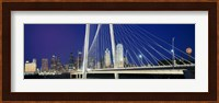 Margaret Hunt Hill Bridge, Dallas, Texas Fine-Art Print