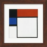 Composition No. III / Fox Trot B with Black, Red, Blue and Yellow, 1929 Fine-Art Print