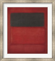 Black over Reds [Black on Red], 1957 Fine-Art Print