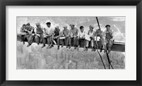 New York Construction Workers Lunching on a Crossbeam, 1932 (detail) Fine-Art Print