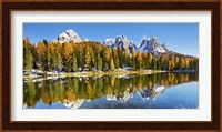 Lago Antorno and Misurina, Dolomites, Italy Fine-Art Print
