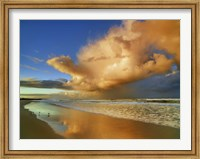 Sunset On The Ocean, New South Wales, Australia Fine-Art Print