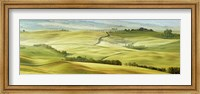Tuscany Landscape, Val d'Orcia, Italy Fine-Art Print