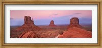 Mittens in Monument Valley, Arizona Fine-Art Print