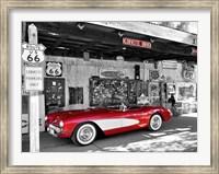 Red Corvette Fine-Art Print