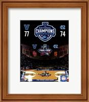 Villanova Wildcats 2016 NCAA Men's College Basketball National Champions Composite Fine-Art Print
