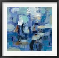 Ultramarine Waves II Fine-Art Print