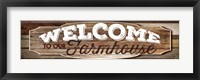 Welcome to Our Farmhouse Fine-Art Print