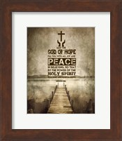 Romans 15:13 Abound in Hope (Sepia) Fine-Art Print