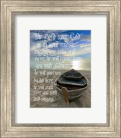 Zephaniah 3:17 The Lord Your God (Beach) Fine-Art Print