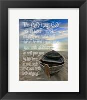 Zephaniah 3:17 The Lord Your God (Beach) Fine-Art Print