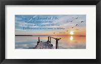 John 6:35 I am the Bread of Life (Pier) Fine-Art Print