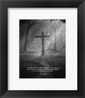 John 6:35 I am the Bread of Life (Cross) Fine-Art Print