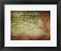 John 6:35 I am the Bread of Life (Grapes) Fine-Art Print