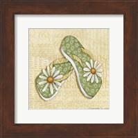 Daisy Sandals Fine-Art Print