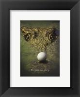 Crocodile Golf Fine-Art Print