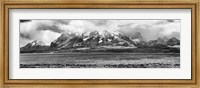 View of the Sarmiento Lake in Torres del Paine National Park, Patagonia, Chile Fine-Art Print