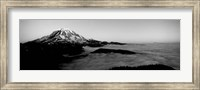Sea of clouds with mountains in the background, Mt Rainier, Washington State Fine-Art Print