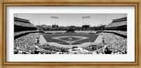 Dodgers vs. Angels, Dodger Stadium, City of Los Angeles, California Fine-Art Print