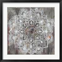 Mandala in Neutral II Fine-Art Print