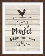Farmer's Market - Sign Fine-Art Print