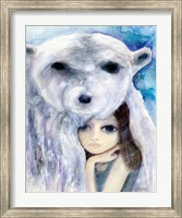 Big Eyed Girl Solitude Fine-Art Print