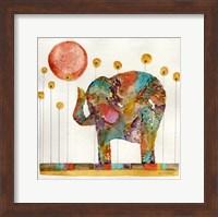 Elephant In Sunflower Field Fine-Art Print