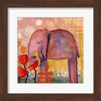 Flower Monger Elephant Fine-Art Print
