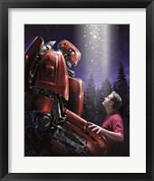 Robot Buddy Fine-Art Print