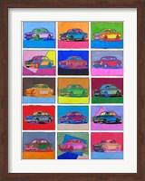 Pop Art Classic Volvo Fine-Art Print