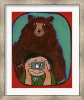 Smile Brown Bear Fine-Art Print