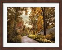 Azalea Garden in Autumn Fine-Art Print