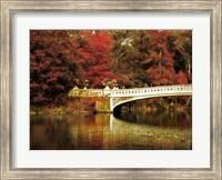 Fall at Bow Bridge Fine-Art Print