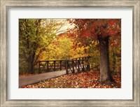 Autumn Footbridge Fine-Art Print