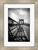 Brooklyn Bridge Promenade Fine-Art Print