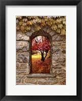 Window to Autumn Fine-Art Print