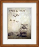 A Smile is Just a Frown Fine-Art Print