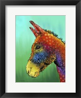 Spotted Donkey 1 Fine-Art Print