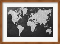 Grey Map Fine-Art Print